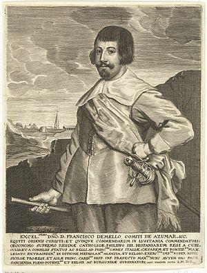 Antony van der Does - Portrait of Francisco de Melo