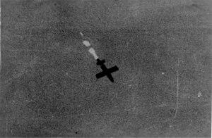 50th Light Anti-Aircraft Brigade (United Kingdom) - V-1 in flight over Antwerp