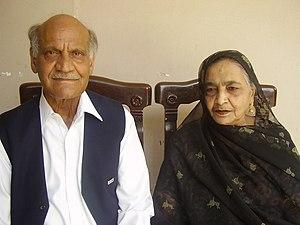 Anwar Masood - Image: Anwar Masood & Sadiqa Anwar