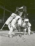Apollo 11 Crew During Training Exercise (9460197354).jpg