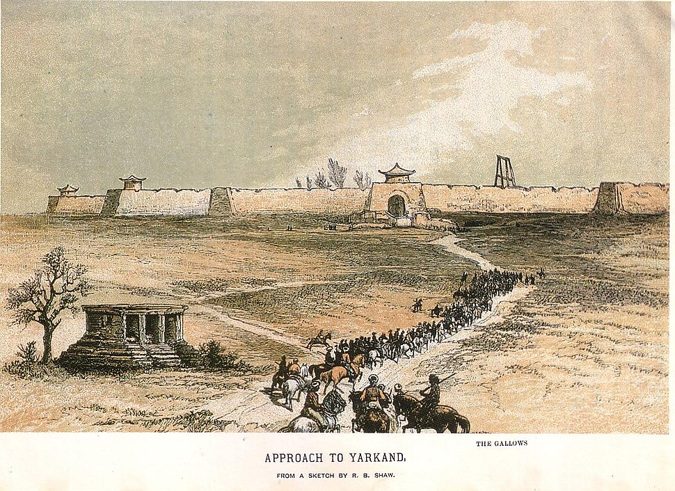 Approach to Yarkand, 1868