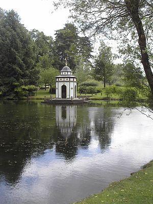 Apremont-sur-Allier - The Turkish pavilion in the gardens at Apremont