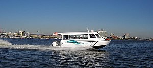 Water taxi - Water bus in Cardiff