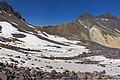 Aragats, Glacier in crater, 2012.08.05 - panoramio.jpg