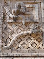 Architectural Detail - Nuns' Quadrangle - Uxmal Archaeological Site - Merida - Mexico - 05.jpg