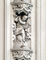 Architectural details, the Woolworth Building, New York, New York LCCN2013650680.tif