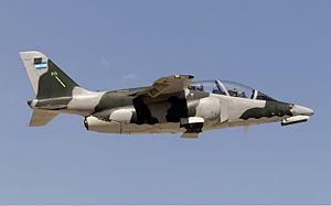 FMA IA-63 Pampa - IA-63 in Mendoza, Argentina