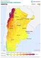 Argentina GHI Solar-resource-map lang-ES GlobalSolarAtlas World-Bank-Esmap-Solargis.png