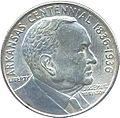 Arkansas-robinson half dollar commemorative obverse.jpg