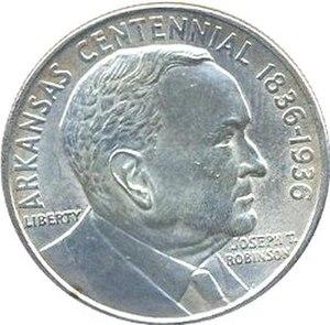 Arkansas-Robinson half dollar - Obverse