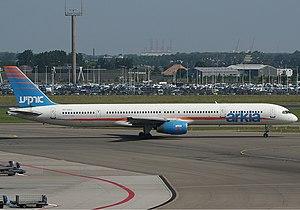 Arkia Boeing 757-300 Spijkers.jpg