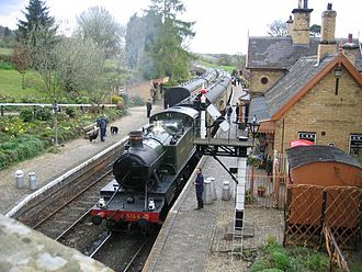 Upper Arley - Arley Severn Valley Railway station