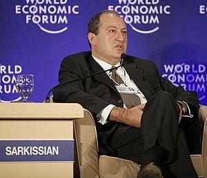 Armen Sarkissian - Image: Armen Sargsyan, November 2008