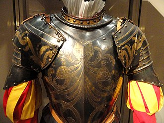 Pontifical Swiss Guard - Armour for the Papal Guard of Gregory XIII, c. 1580s (Higgins Armory Museum)