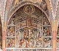 Arnoldstein Thoerl Pfarrkirche hl Andreas Chor N-Seite W-Joch Lebendes Kreuz 05102016 4743.jpg