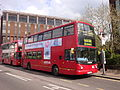 Arriva London DLA287 on Route 312, East Croydon (13948759906).jpg