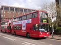 Arriva London DLA287 on Route 312, East Croydon (13948759906).jpg