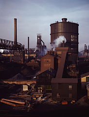 Arthur Siegel, Great Lakes Steel, Detroit, Michigan, 1942.jpg