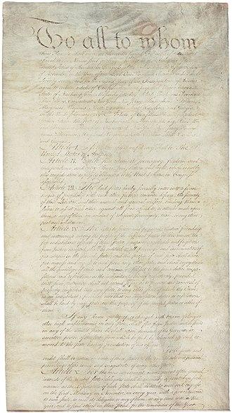 Articles of Confederation - Image: Articles of Confederation 1 5