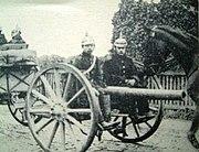 Artillerie de campagne allemande pre-1914
