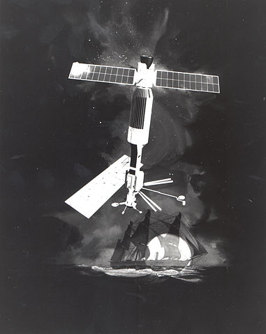 Seasat and Challenger Image