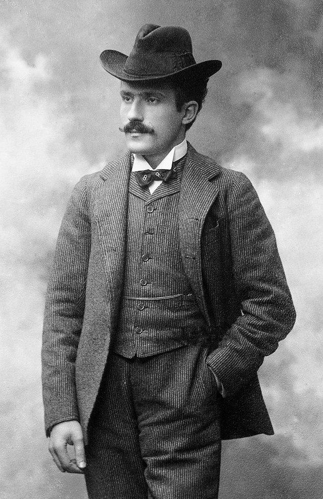 Arturo Toscanini - de Augostini bw