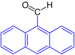 Aryl=9-Anthracenyl=9-Anthracen Carbaldehyde.png