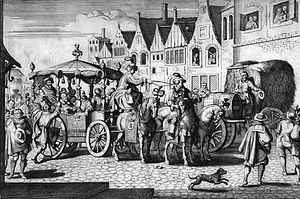 Gaspar Bouttats - The Assassination of Henry IV, King of France