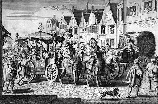 Assassination of Henry IV by Gaspar Bouttats