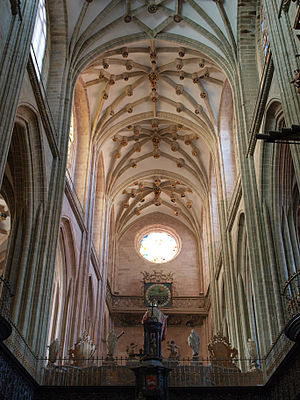 Astorga Cathedral - Cathedral interior.