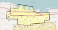 Astoria Downtown HD boundary map.png