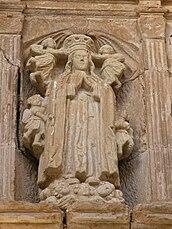 Imagen de la Coronación de la Virgen.