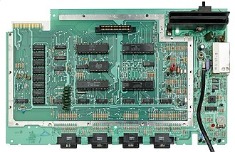 Atari 5200 - The 5200 runs off a 1.79 MHz 6502C CPU.