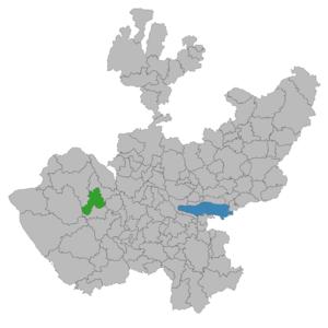 Atenguillo - Image: Atenguillo (municipio de Jalisco)