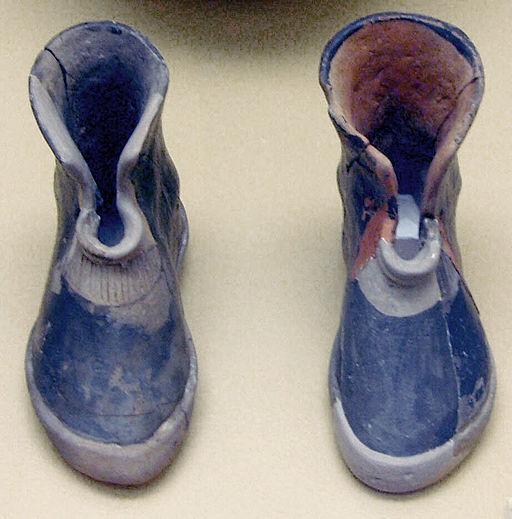Athen Stoa Schuhe 1