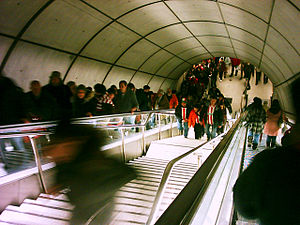 Athletic Club fans Bilbao Metro