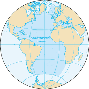 Межі атлантичного океану