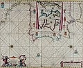 Atlas maritimus, or A book of charts - Describeing the sea coasts capes headlands sands shoals rocks and dangers the bayes roads harbors rivers and ports, in most of the knowne parts of the world. (14751103554).jpg