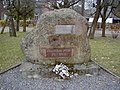 Auce, piemineklis staļinisma upuriem. 2001-10-27 - panoramio.jpg