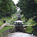 Audlem Locks, Shropshire Union Canal, Cheshire - geograph.org.uk - 579924.jpg