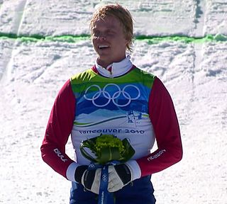 Audun Grønvold freestyle skier