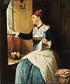 August Müller Frau am Fenster.jpg
