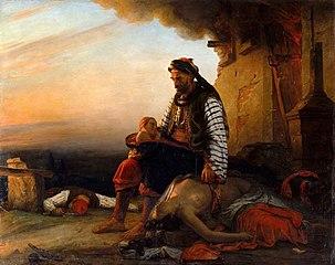 Sujet grec moderne après le massacre de Samothrace