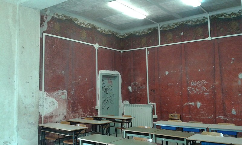 File:Aula liceo Sabatini ex seminario Salerno.jpg