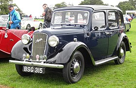 Austin 10 4 door cabriolet March 1938 1040cc.JPG