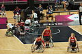 Australia - Canada, women's wheelchair basketball at Paralympics 2012 - 3.jpg