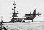 Australian Gannet AS.1 lands on USS Philippine Sea (CVS-47) in May 1958.jpg