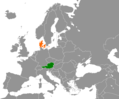 Austria Denmark Locator.png