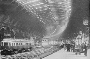 York railway station - York station in the early 20th Century