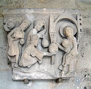 This capital of the Three Kings at Autun has stong narrative qualities in the interaction of the figures.